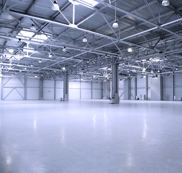 Warehouse Epoxy Concrete Coatings Edmonton Alberta