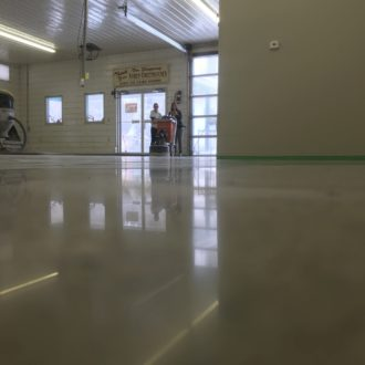 commercial concrete polishing
