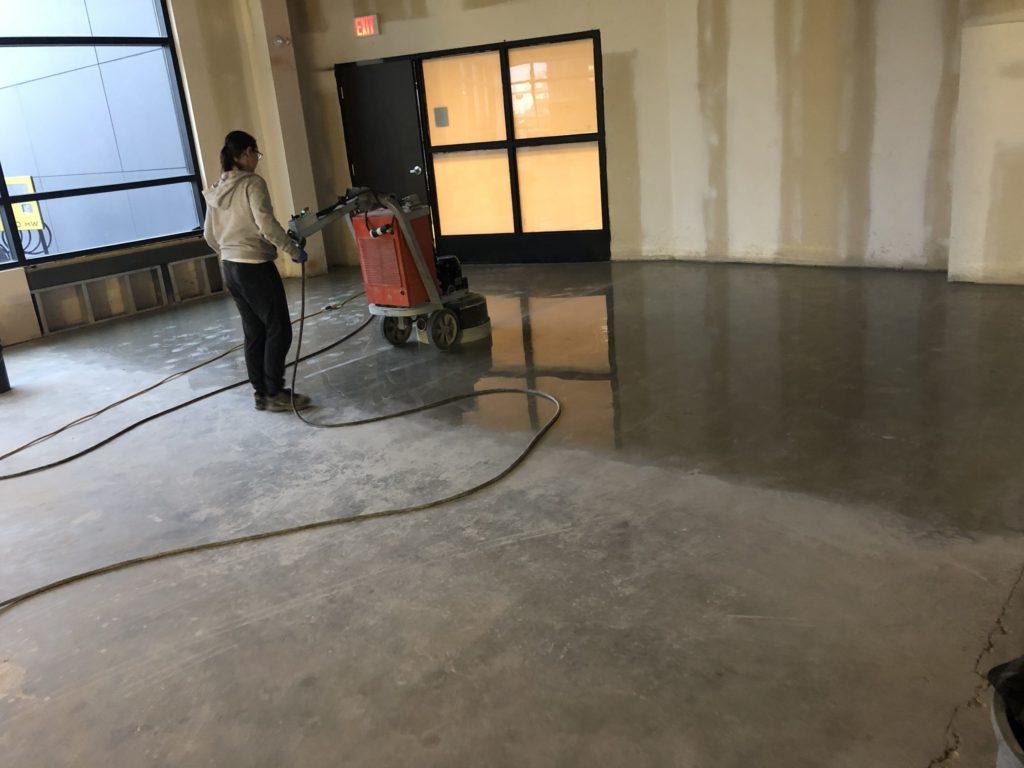 concrete polishing edmonton