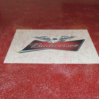 best custom floor coating in edmonton