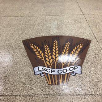 commercial floor custom coating